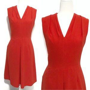 Adrianna Papell Orange Sheath Dress